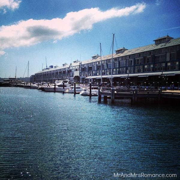 Mr & Mrs Romance - Insta Diary - 8 Woolloomooloo Wharf