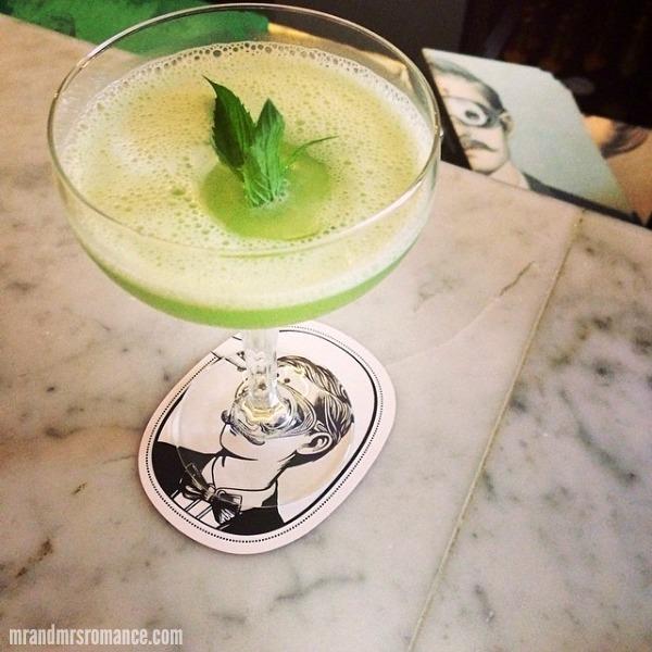 Mr & Mrs Romance - Intsa Diary - 2 cocktails at Mr Moustache