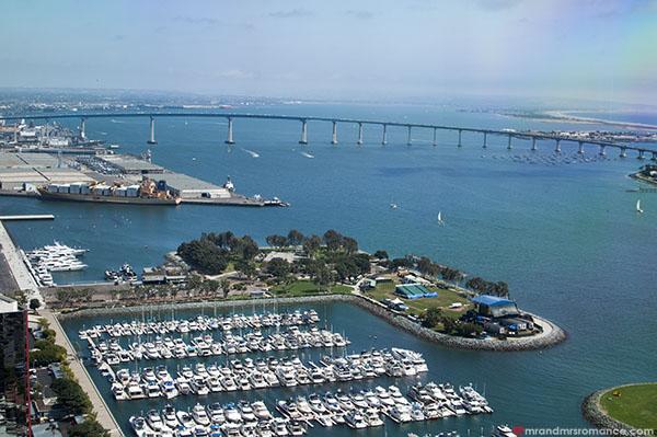Mr and Mrs Romance - San Diego views