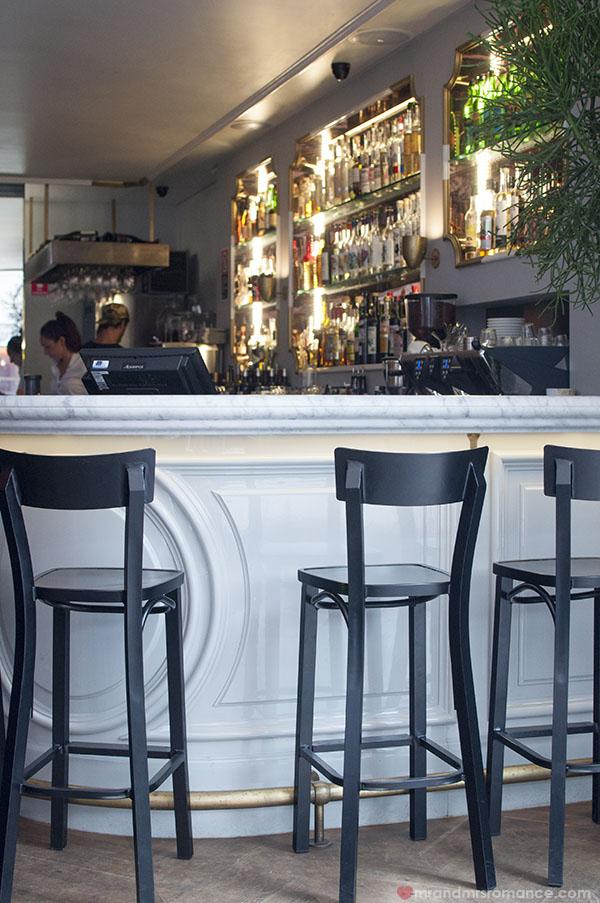 Mr and Mrs Romance - The bar at Mr Moustache Bondi Beach