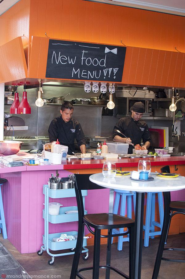 Mr and Mrs Romance - la cocina at Mr Moustache Bondi Beach