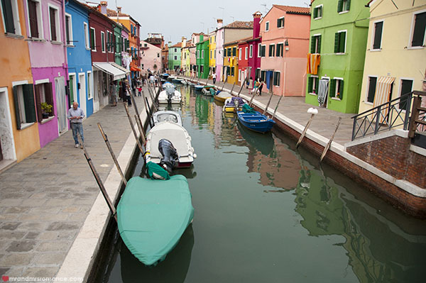 Burano in Venice - Mr and Mrs Romance