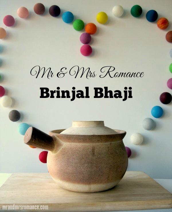 Mr & Mrs Romance - Curry Series - Brinjal Bhaji title 1