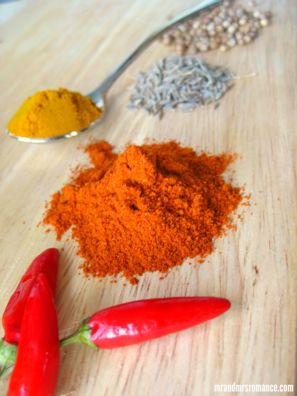 Mr & Mrs Romance - Curry Series - spices