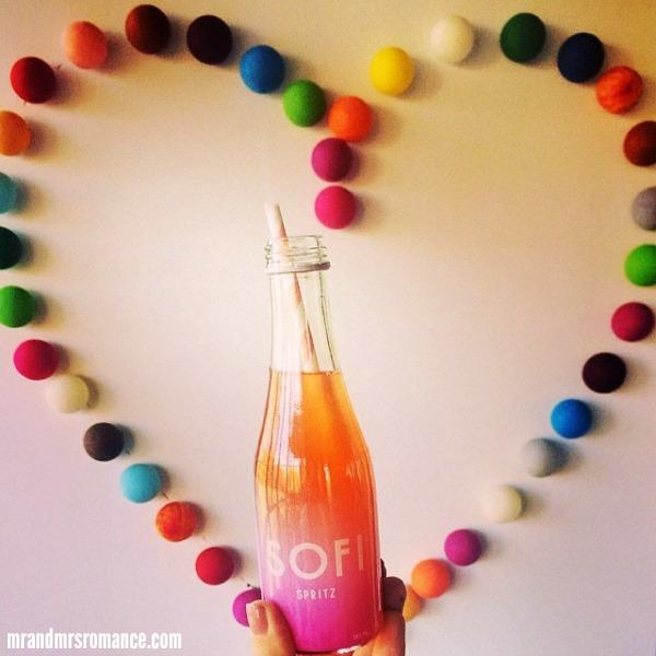 Mr & Mrs Romance - Insta Diary - 10 Sofi spritz