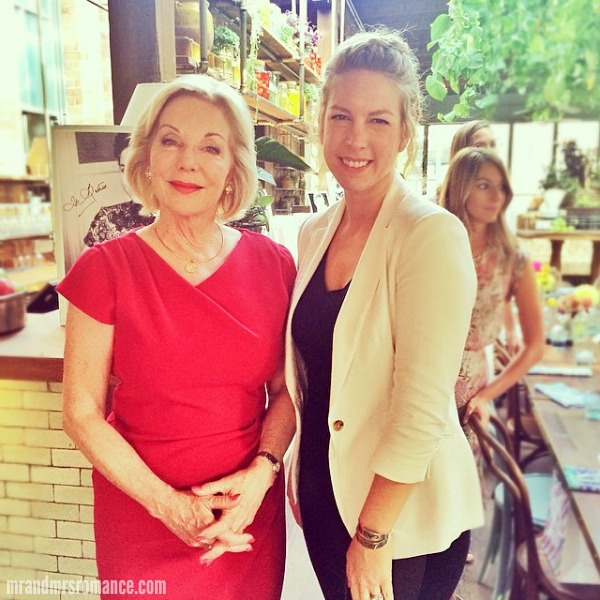 Mr & Mrs Romance - Insta Diary - 2HR1 Mrs R & Ita Buttrose