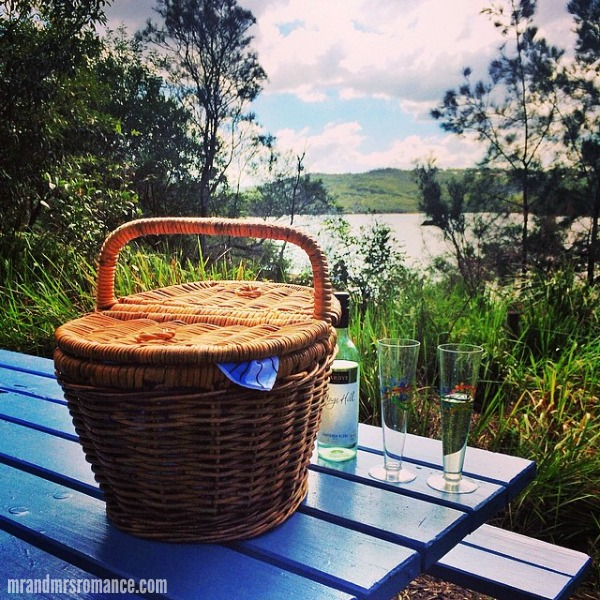 Mr & Mrs Romance - Insta Diary - 9 Easter w-e picnic