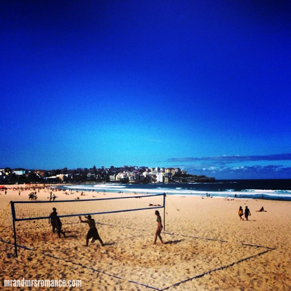 Mr & Mrs Romance - Intsa Diary - 12 Bondi beach