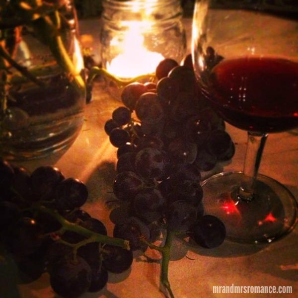 Mr & Mrs Romance - Intsa Diary - 2 Grapes and wine at the Winery