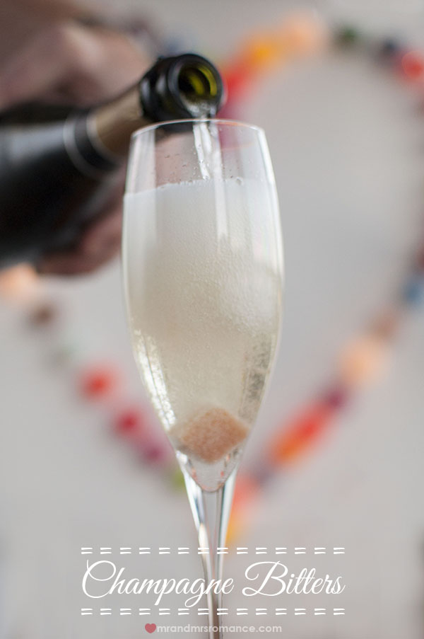 Champagne Bitters cocktail recipe by @mrandmrsroomance