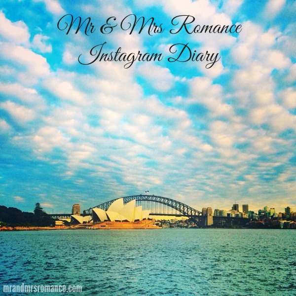 Mr & Mrs Romance - Insta Diary - 1 Sydney Harbour lookin purdy
