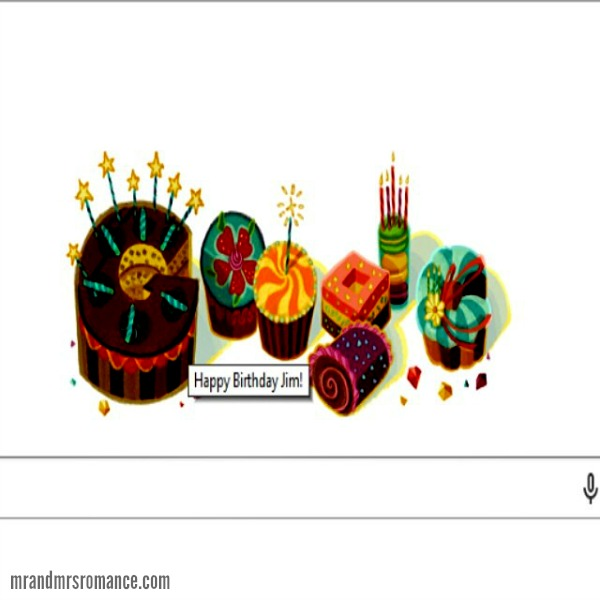 Mr & Mrs Romance - Insta Diary - 2 happy birthday from Google!
