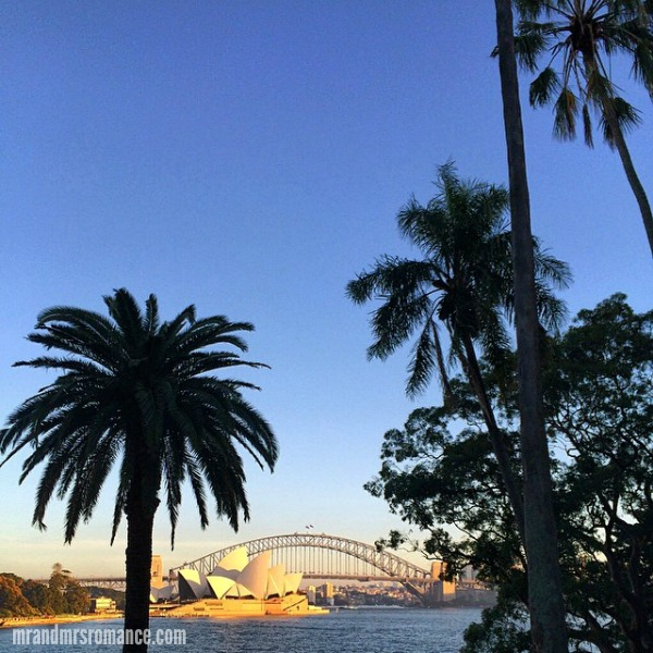 Mr & Mrs Romance - Insta Diary - 6 sun's shining over Sydney Harbour