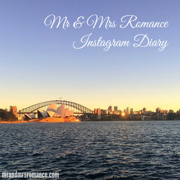 Mr & Mrs Romance - Insta diary - 1 Sydney Harbour