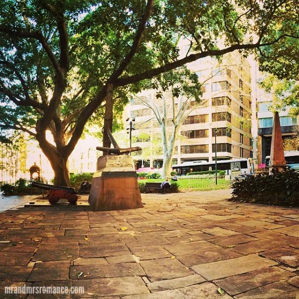 Mr & Mrs Romance - Insta diary - 2 Macquarie Place Park