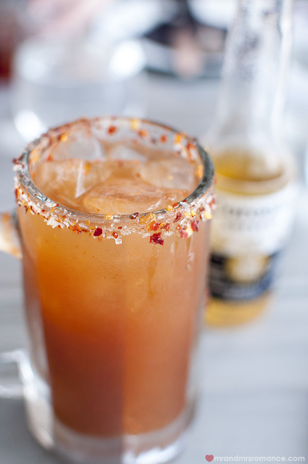The Spicy Mexican Bloody Mary by Mr Moustache - Mr and Mrs Romance