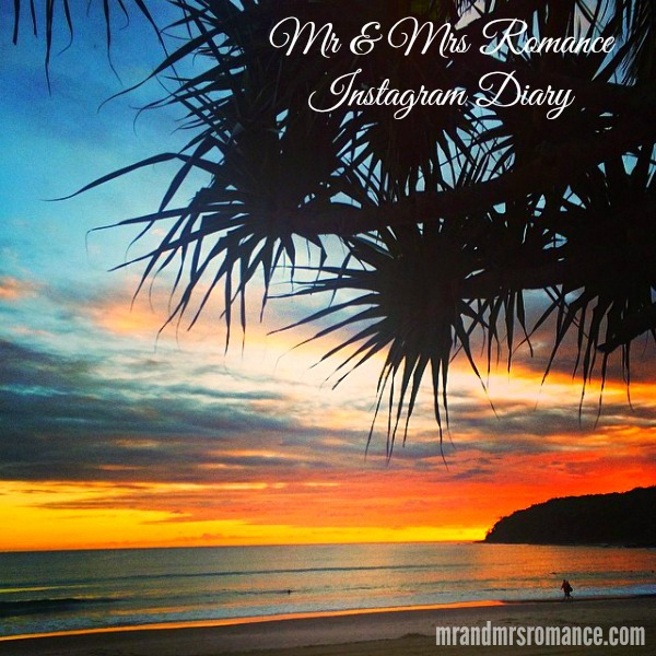 Mr & Mrs Romance - Insta diary - 0 HR1 Noosa sunrise Title