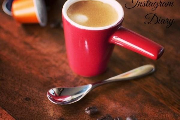 Mr & Mrs Romance - Insta diary - 1 coffee title