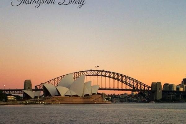 Mr & Mrs Romance - Insta diary - 1 sydney harbour title