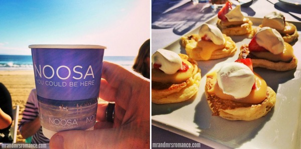 Mr & Mrs Romance - Insta diary - 2 Noosa breakfast