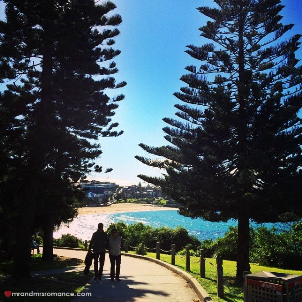 Mr & Mrs Romance - Insta diary - 9 a walk along Coogee's coastline