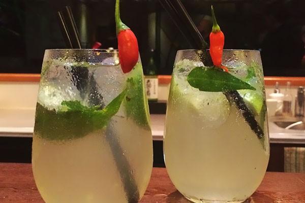 Mr and Mrs Romance - Chilli Mojito recipe from Spiers Tamarind