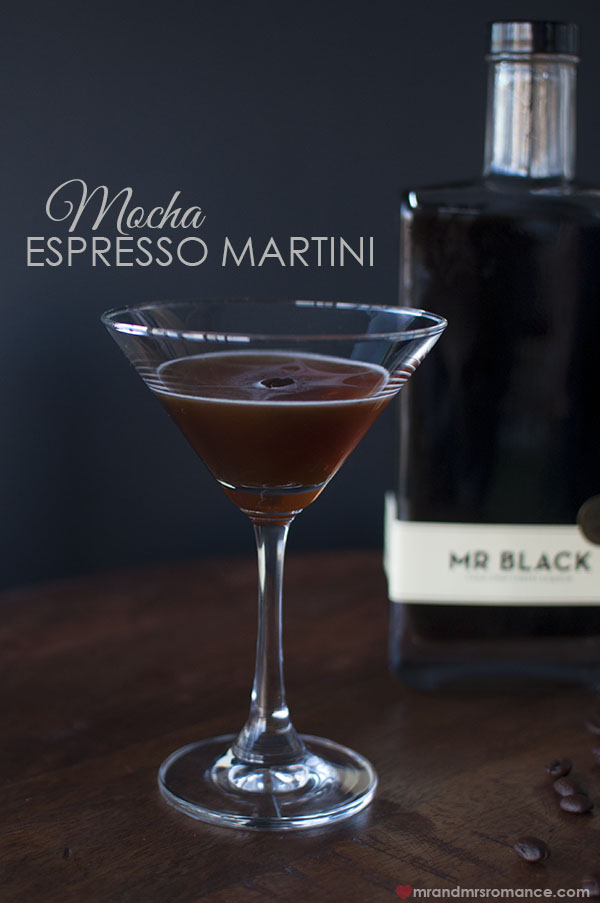 Mr and Mrs Romance - Mr Black Mocha Espresso Martini cocktail recipe