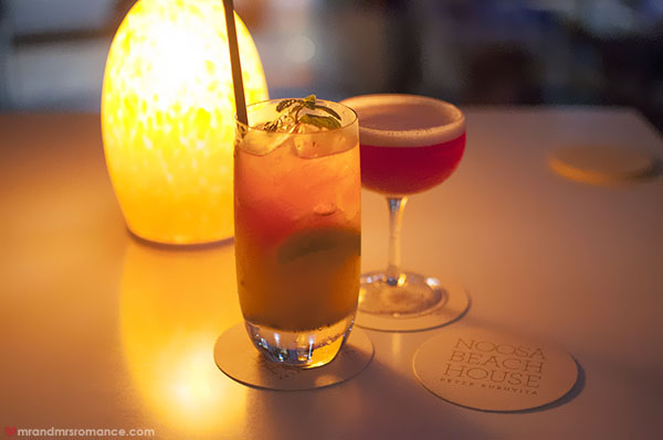 Mr-and-Mrs-Romance-Noosa-Beach-House-Restaurant-cocktails