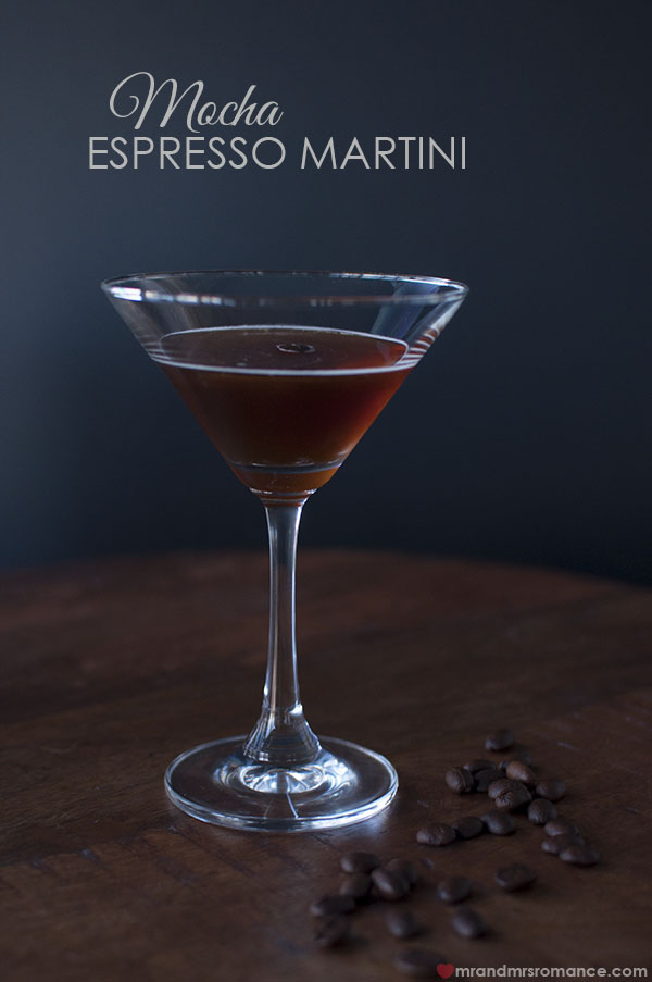 Mr and Mrs Romance - The Mocha Espresso Martini - cocktail recipe