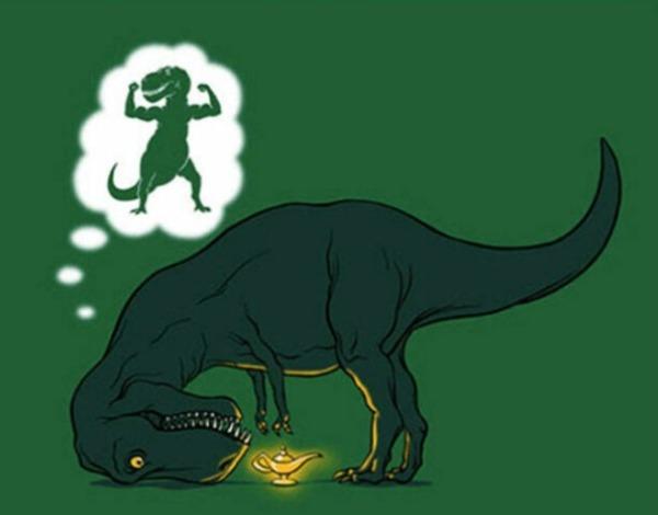 Tyranosaurus wreck