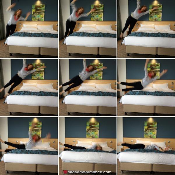 Mr & Mrs Romance - 2 bed jump collage