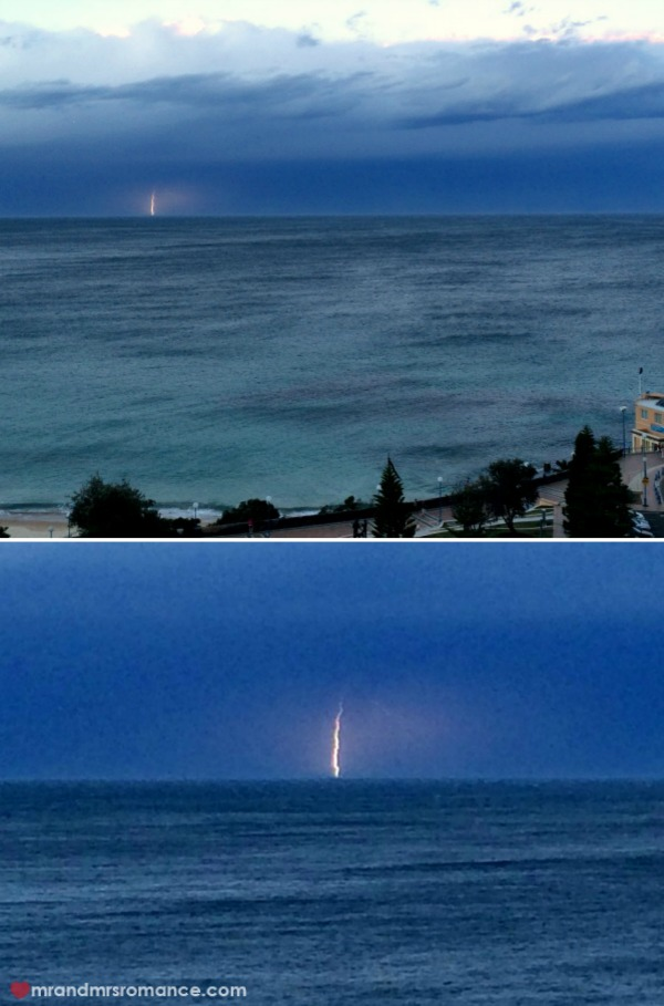 Mr & Mrs Romance - 4 Lightning burst collage