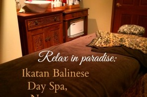Where to relax in paradise: Ikatan Balinese Day Spa, Noosa, Queensland