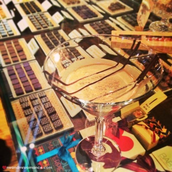 Mr & Mrs Romance - Insta diary - 6 Max Brenner choc martini
