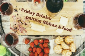 Friday Drinks: Wine of the Month – what food goes with Shiraz?