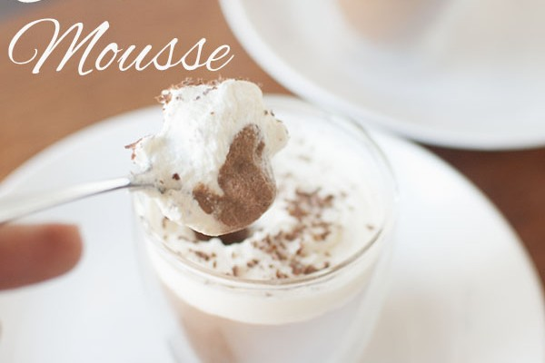 Mr and Mrs Romance - Coffee chocolate mousse recipe
