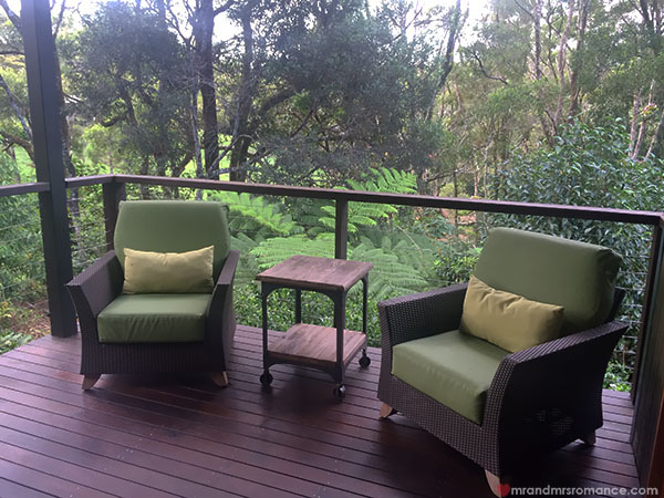 Mr and Mrs Romance - Spicers Retreat 7