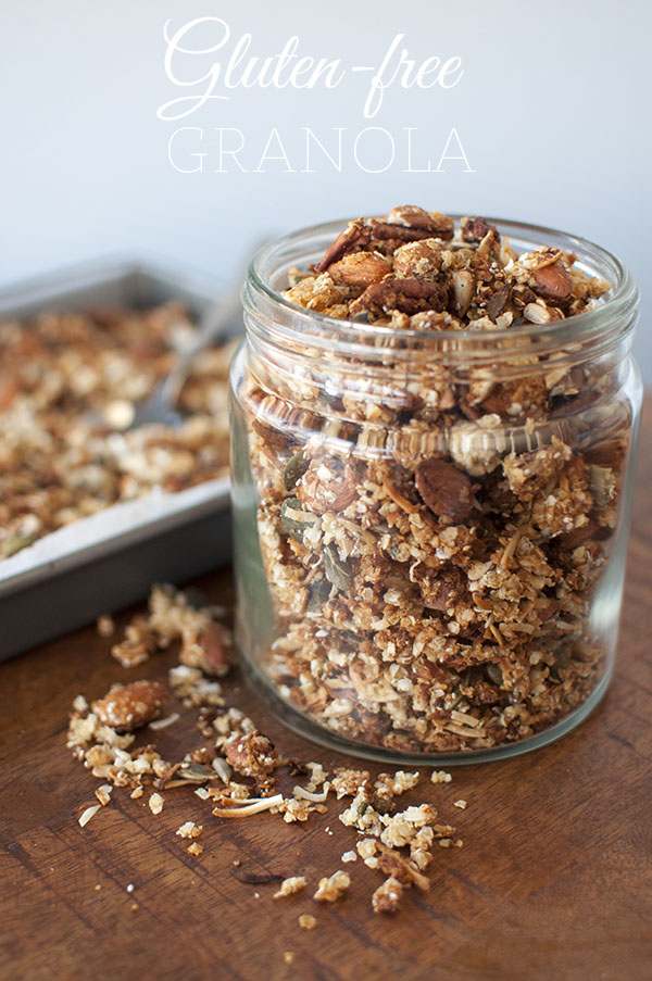 Mr and Mrs Romance - how to make easy gluten free granola