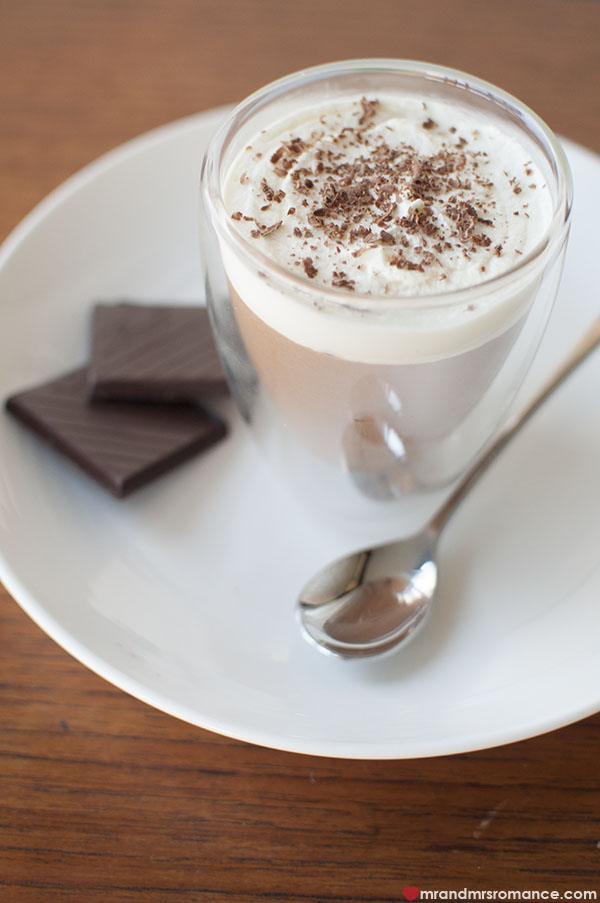 Mr and Mrs Romance - the best Coffee chocolate mousse recipe