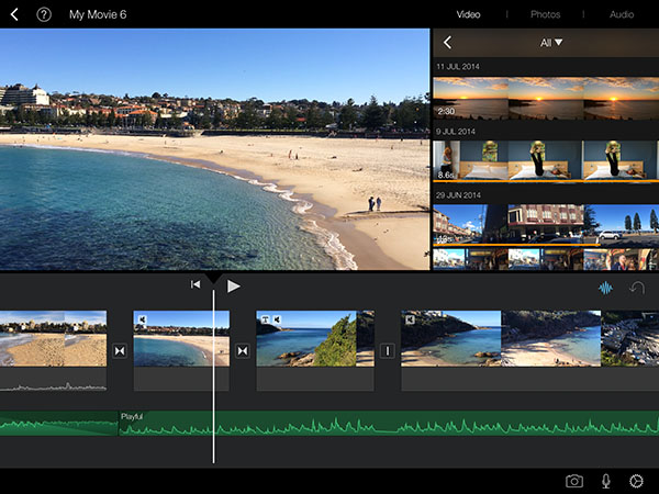 7 apps we use for blogging - iMovie