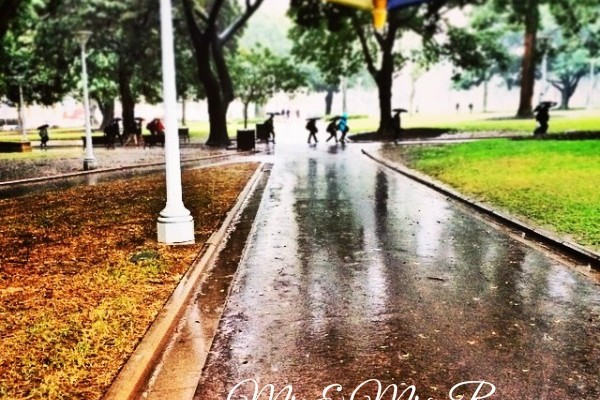 Mr & Mrs Romance - Insta Diary - 1 a wet week