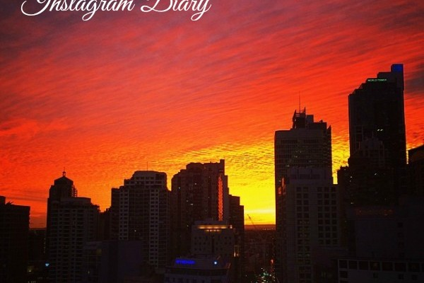 Mr & Mrs Romance - Insta Diary - 1sunset over Sydney