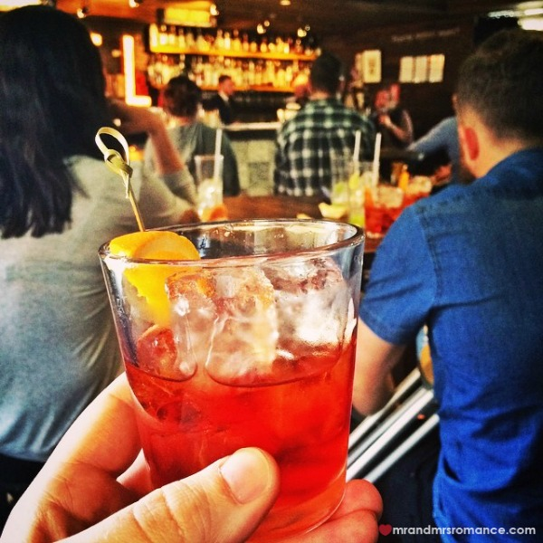 Mr & Mrs Romance - Insta Diary - 2 negroni at The Rook