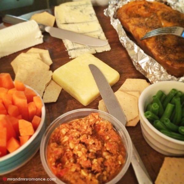 Mr & Mrs Romance - Insta Diary - 3 cheese dinner!