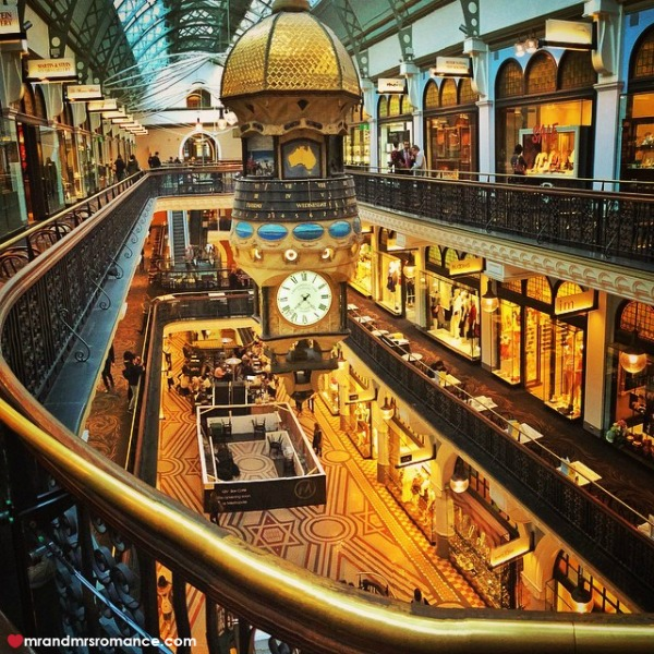 Mr & Mrs Romance - Insta Diary - 4 the QVB