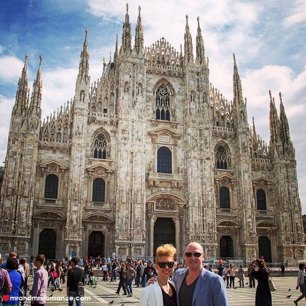 Mr & Mrs Romance - Insta Diary - 7 top 10 things to do in Milan