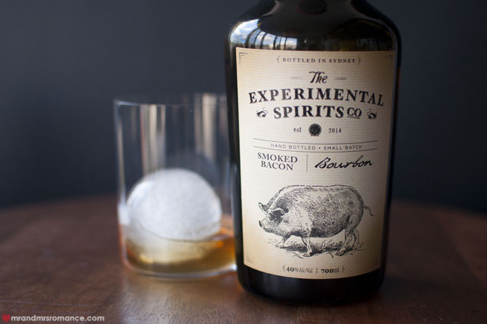 Mr and Mrs Romance - Experimental Spirits Co - Smoked Bacon Bourbon