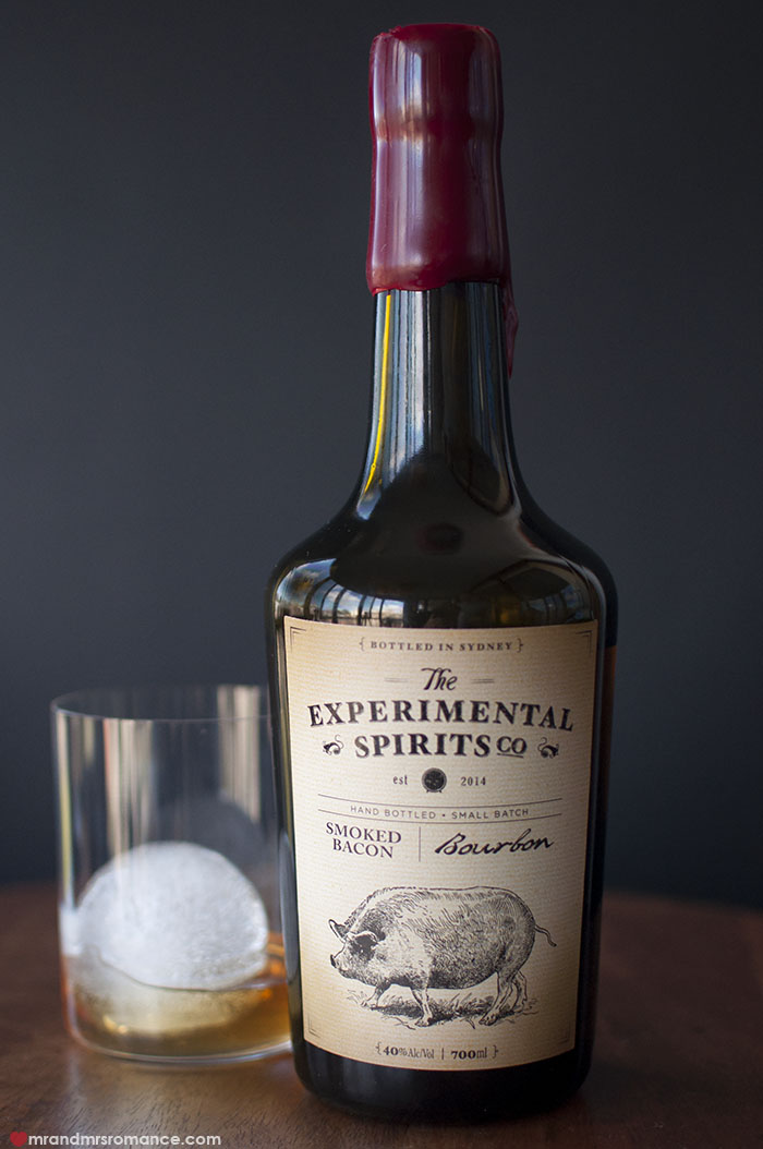 Mr and Mrs Romance - Experimental Spirits Co Smoked Bacon Bourbon