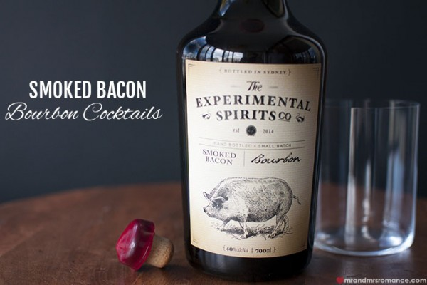 Mr and Mrs Romance - The Experimental Spirits Co - Smoked Bacon Bourbon