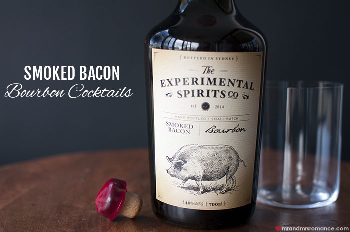 Bacon bourbon by Experimental Spirits Co – cocktail series: part 1